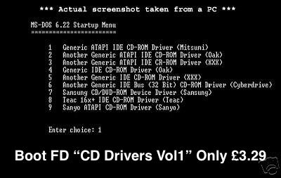 Pc Tech PC CDROM driver Vol 1 FD